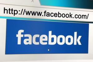 facebook logo in browser
