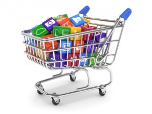 apps in shopping cart